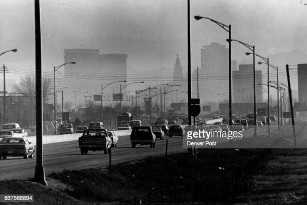 Vehicles Scoot Through Heavy Smog At W 51st Ave And Valley Highway A heavy layer of smog described as 400 to 500 feet thick engulfed the downtown...