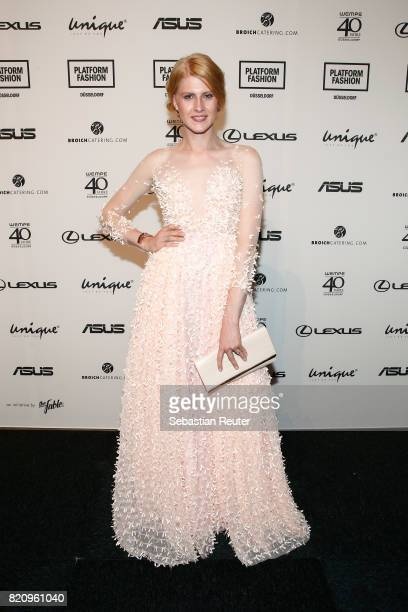 Veit Alex attends the Unique show during Platform Fashion July 2017 at Areal Boehler on July 22 2017 in Duesseldorf Germany