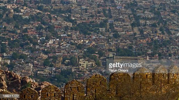 Veiw Alwar city - Alwar Fort