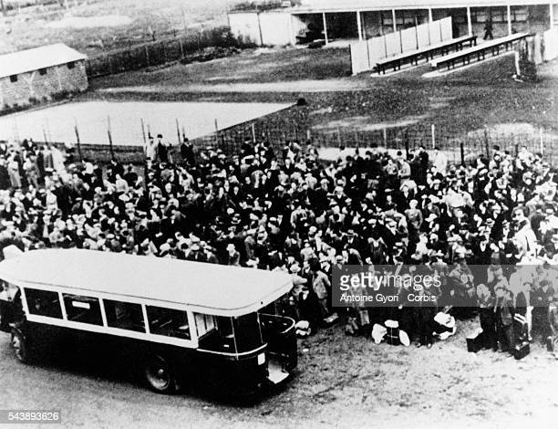 Vel d'Hiv deportation in the night of 15th and 16th July 1942 9000 policemen and French officers arrested in Paris and in the suburbs 12884 Jews...
