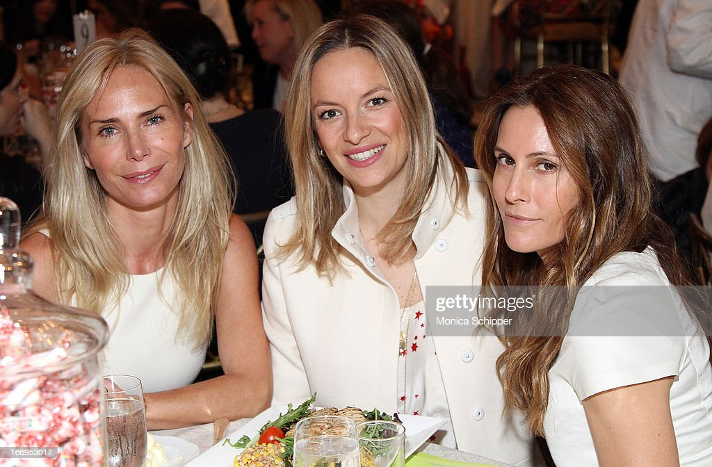 Velesca Guerrand-Hermes, Coralie Paul and Christina Cuomo attend The New York Society For The Prevention Of Cruelty To Children's 2013 Spring Luncheon at The Pierre Hotel on April 18, 2013 in New York City.