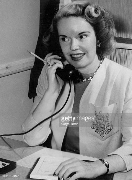 MAR 7 1954 MAR 8 1954 MAR 21 1954 Velma Wilson a Denver model for seven years has opened her own model agency and school in a fifth floor suite in...