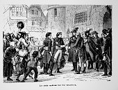 Vendean chiefs make their submission in 1799