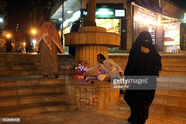 Vendors mainly from Eastern countries as well as some Africans display their goods at the popular market of Qabil street in the heart of Jeddah...