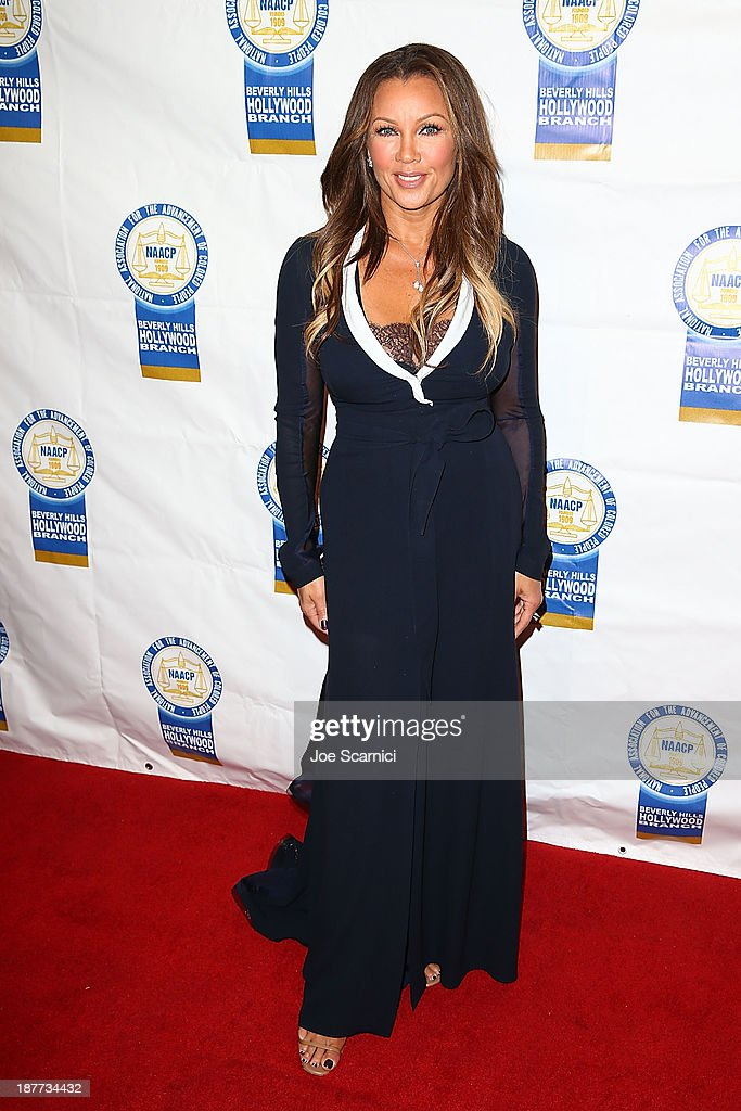 Venessa Williams arrives at the 23rd annual NAACP Theatre Awards at Saban Theatre on November 11, 2013 in Beverly Hills, California.