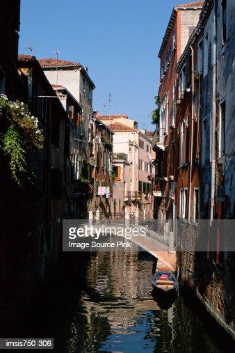 Venetian canal : Stock Photo