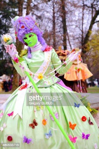 Venetian carnival : Stock Photo