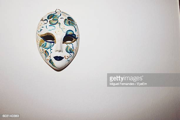 Venetian Mask Mounted On Wall