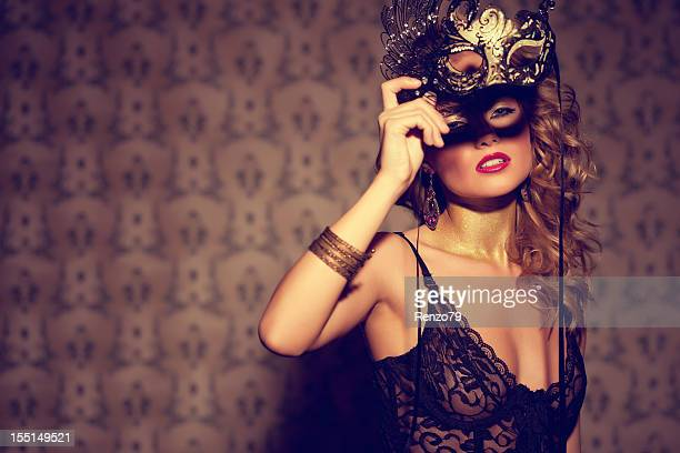 Venezianische Masken Blonde