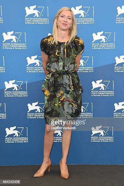 Venezia 71 jury member Jessica Hausner attends the Opening Photocall during the 71st Venice International Film Festival on August 27 2014 in Venice...