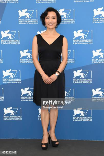Venezia 71 Jury member Joan Chen attends the Opening Photocall during the 71st Venice International Film Festival on August 27 2014 in Venice Italy