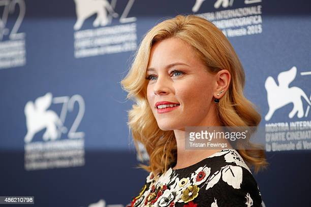 'Venezia 72' Jury member Elisabeth Banks attends the Jury Photocall during the 72nd Venice Film Festival on September 2 2015 in Venice Italy