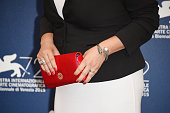 'Venezia 72' Jury member Lynne Ramsay detail attends the Jury Photocall during the 72nd Venice Film Festival on September 2 2015 in Venice Italy
