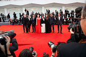 Venezia 72 jury members Pawel Pawlikowski Nuri Bilge Ceylan Diane Kruger Lynne Ramsay Elizabeth Banks Francesco Munzi Emmanuel Carrere and president...
