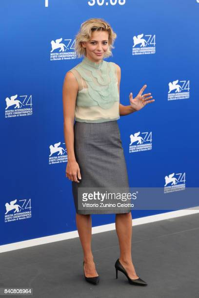 'Venezia 74' jury member Jasmine Trinca attends the Jury photocall during the 74th Venice Film Festival at Sala Casino on August 30 2017 in Venice...