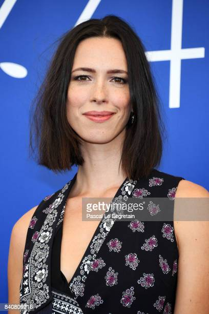 'Venezia 74' jury member Rebecca Hall attends the Jury photocall during the 74th Venice Film Festival at Sala Casino on August 30 2017 in Venice Italy