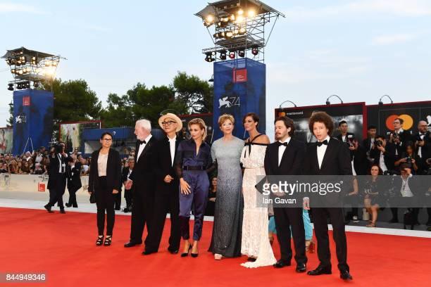 'Venezia 74' jury members Ildiko Enyedi David Stratton Yonfan Jasmine Trinca president Annette Bening members Anna Mouglalis Edgar Wright and Michel...