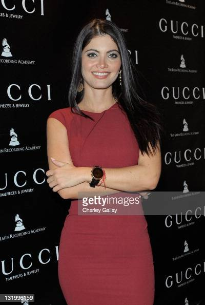 Venezuelan TV Host Chiquinquira Delgado attends Gucci Timepieces and Jewelry Celebrate Latin GRAMMY Week at THEhotel at Mandalay Bay Hotel and Casino...
