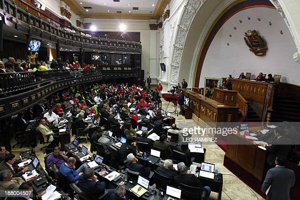 Venezuela's National Assembly debates on a measure that would give Venezuelan President Nicolas Maduro extraordinary powers over the economy...