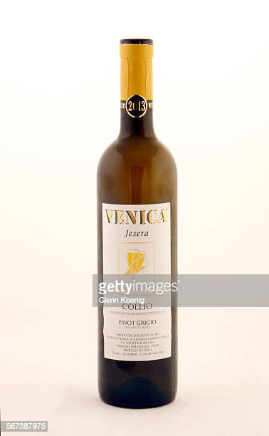 Venica Jesera Collio Pinot Grigio was photographed at the Los Angeles Times photo studio on September 10 2014