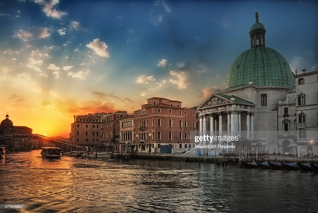 Venice and Canal Grande