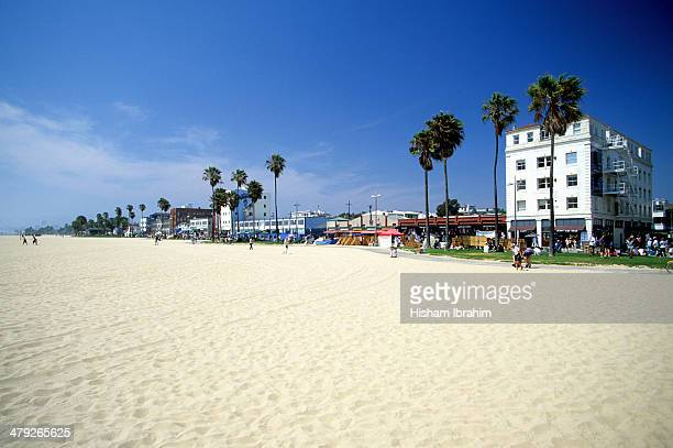 Venice Beach Boardwalk, Los Angeles, California.