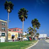 Venice Beach boardwalk, Los Angeles