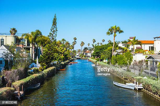 Venice Beach Canals, California, USA
