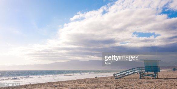 Venice Beach in South California : Stock Photo