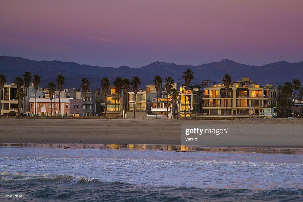 Venice beach shore : Stock Photo