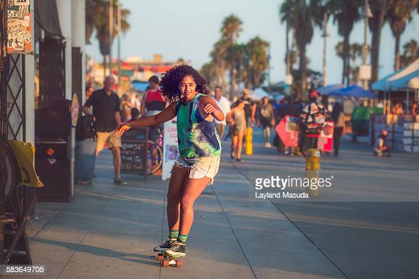 Venice Beach Skateboard Girl