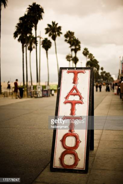 Venice Boardwalk Tattoo Sign