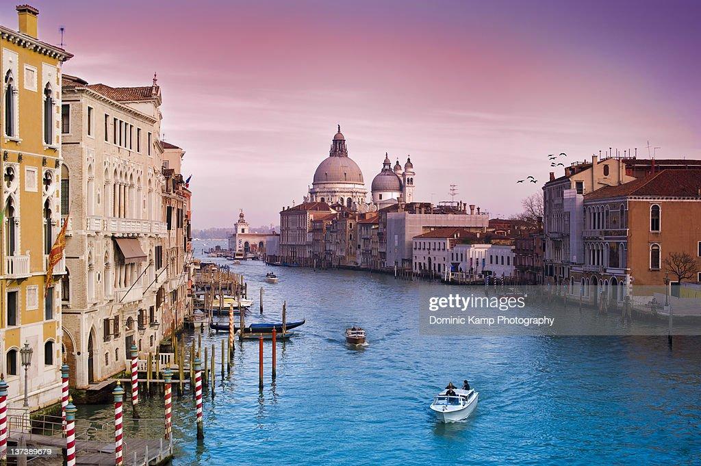 Venice Canale Grande Italy : Stock Photo
