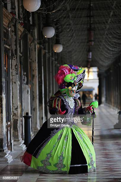 Venice Carnival or Carnivale de Venezia in Venice Italy Annual festival in Venice which ends with the Christian celebration of Lent 40 days before...