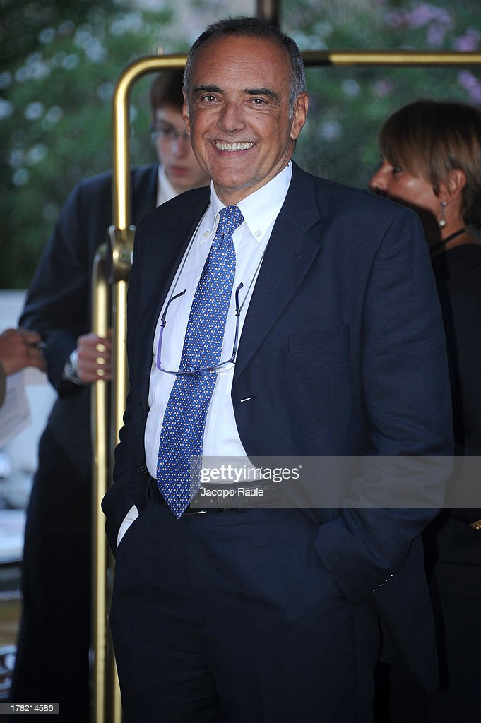 Venice Film Festival Director <a gi-track='captionPersonalityLinkClicked' href=/galleries/search?phrase=Alberto+Barbera&family=editorial&specificpeople=6900426 ng-click='$event.stopPropagation()'>Alberto Barbera</a> is seen during the 70th Venice International Film Festival on August 27, 2013 in Venice, Italy.