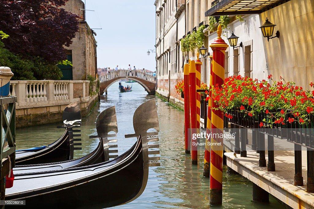 Venice, Gondola in Venice : Stock Photo