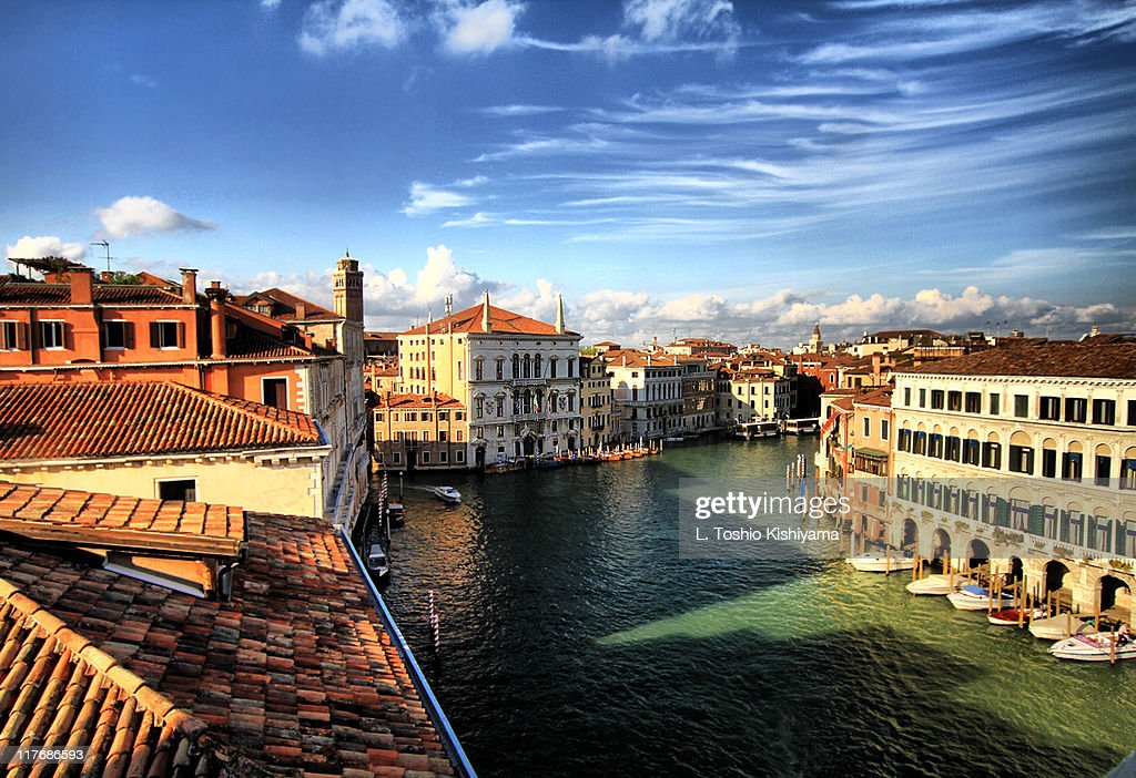 Venice Grand Canal View : Stock Photo