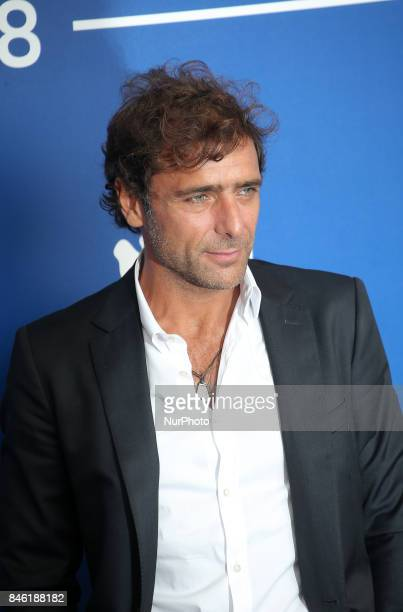Adriano Giannini attends the 'Emma ' photocall during the 74th Venice Film Festival