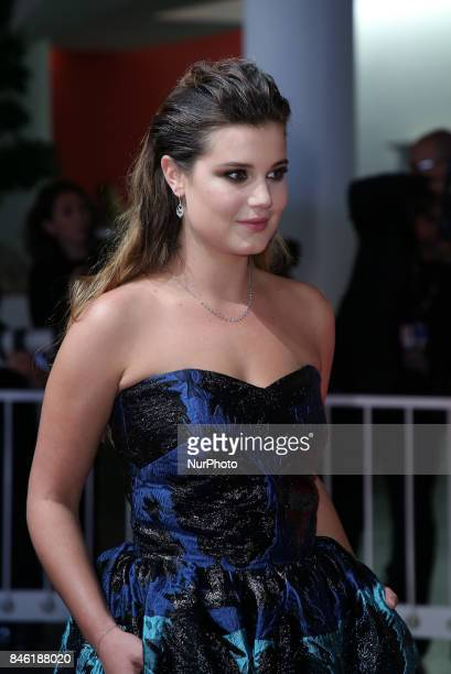 Alexia Chardard walks the red carpet ahead of the 'Mektoub My Love Canto Uno' screening during the 74th Venice Film Festival