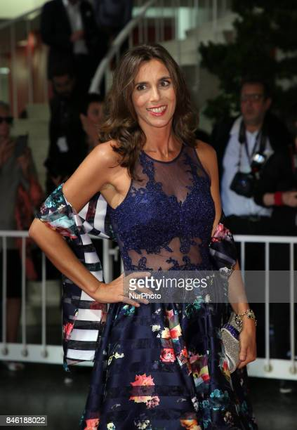 Guest walks the red carpet ahead of the 'Mektoub My Love Canto Uno' screening during the 74th Venice Film Festival
