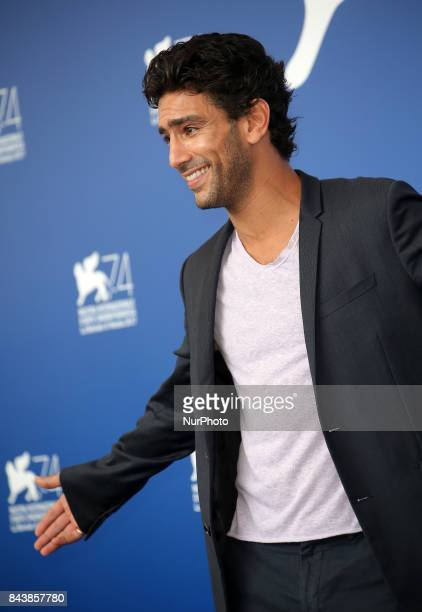 Salim Kechiouche attend the 'Mektoub My Love Canto Uno' photocall during the 74th Venice Film Festival