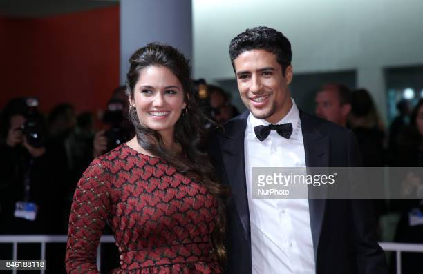Shain Boumedine and Ophelie Bau walks the red carpet ahead of the 'Mektoub My Love Canto Uno' screening during the 74th Venice Film Festival