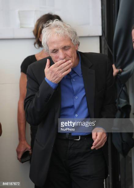 Venice Italy 08 September 2017 Abel Ferrara during the 'Piazza Vittorio' photocall during the 74th Venice Film Festival
