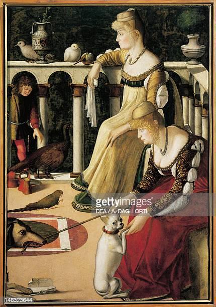 Venice Museo Correr Two Venetian ladies by Vittore Carpaccio