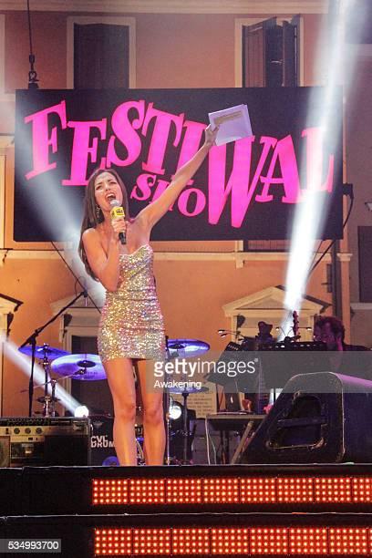 Venice Music Festival Show in the photo presenter Laura Barriales