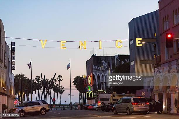 Venice sign, Santa Monica, California, USA