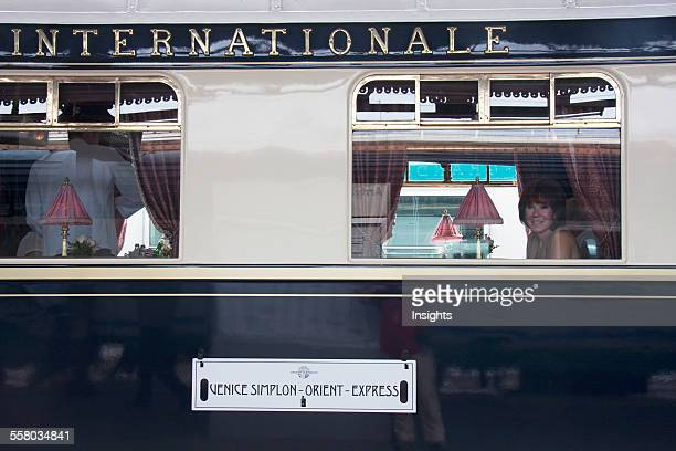 Venice SimplonOrientExpress Train Verona Italy