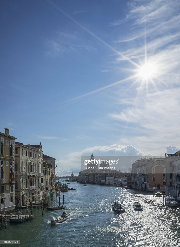 Venice, The Grand Canal : Stock Photo