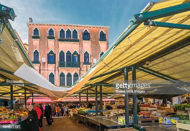 Venice, The Rialto Market