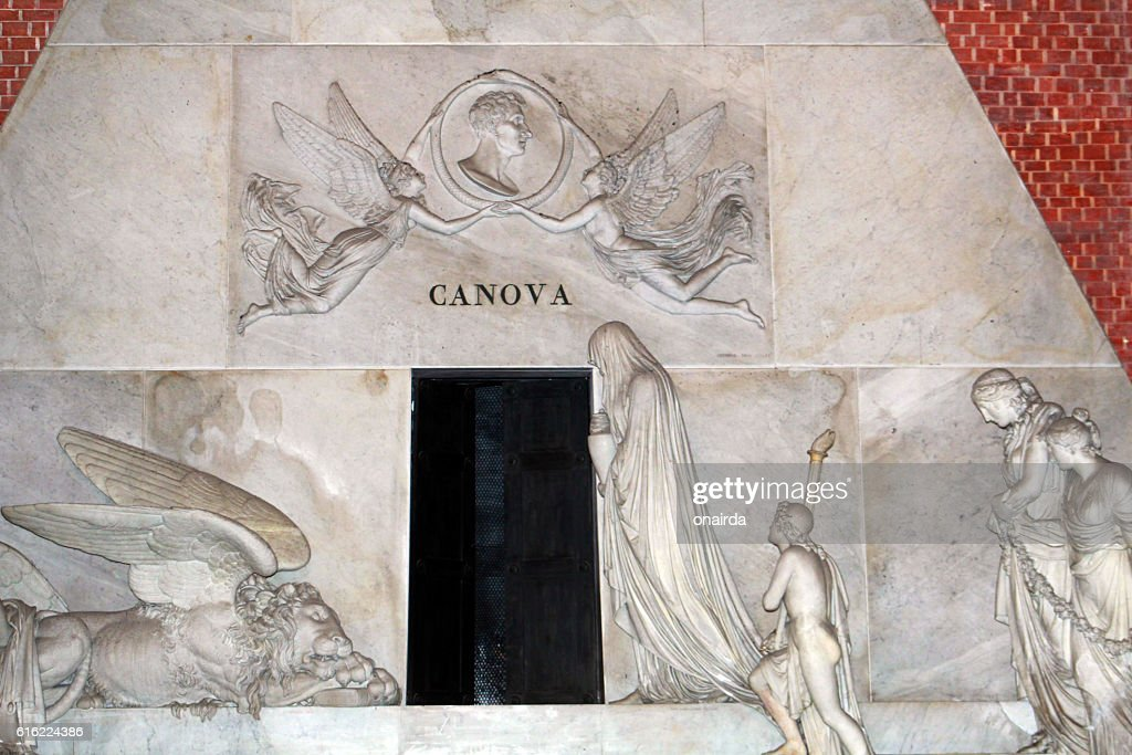 venezia tomba di canova : Stock Photo